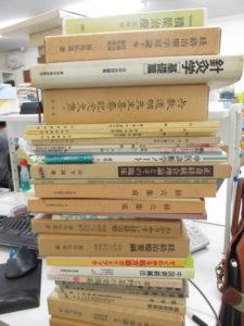 鍼灸関連の医学書を約140冊買取いたしました